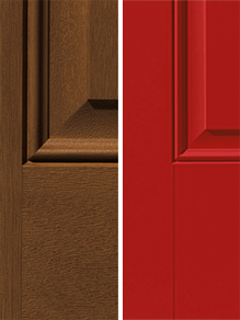 encompass by pella entry doors materials wood or steel